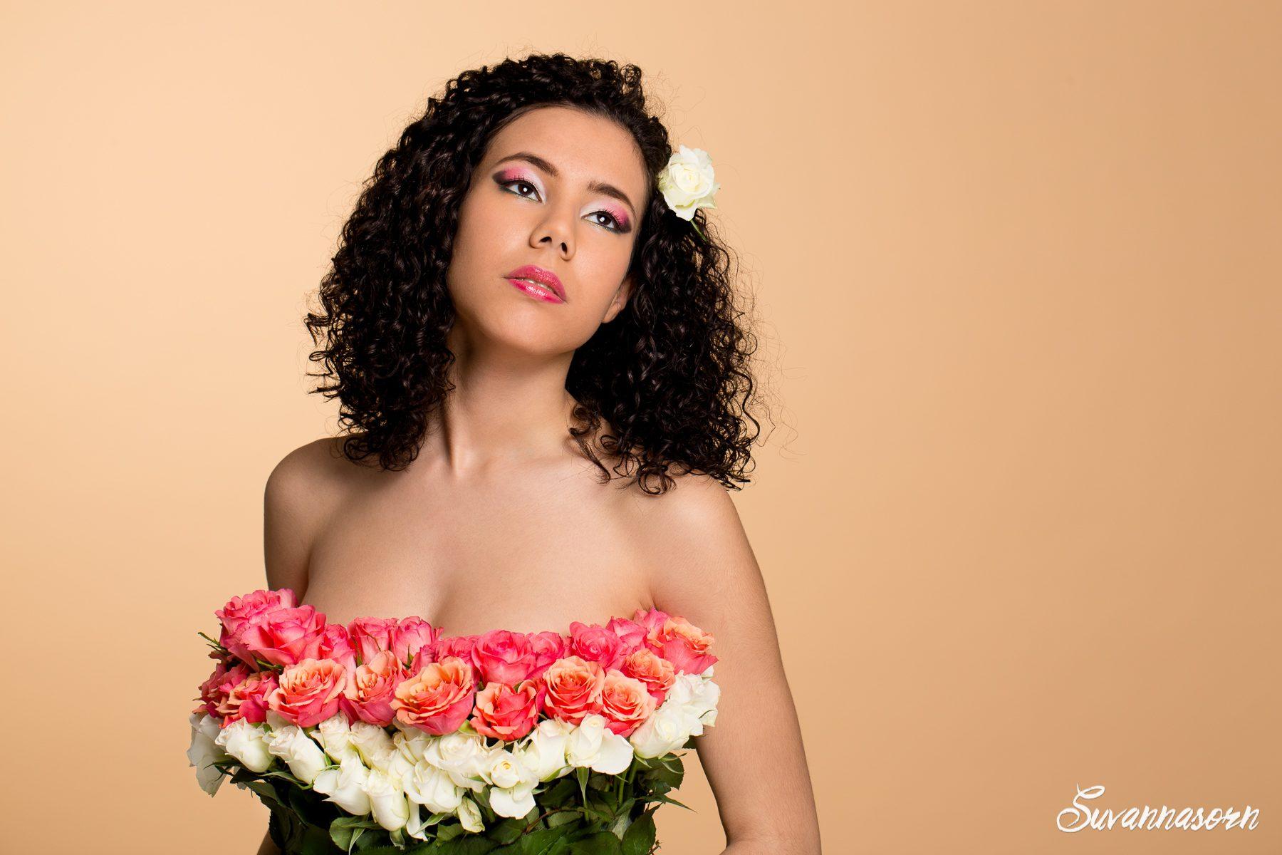 suvannasorn maquillage beauté femme genève maquilleuse artiste photographe fleurs