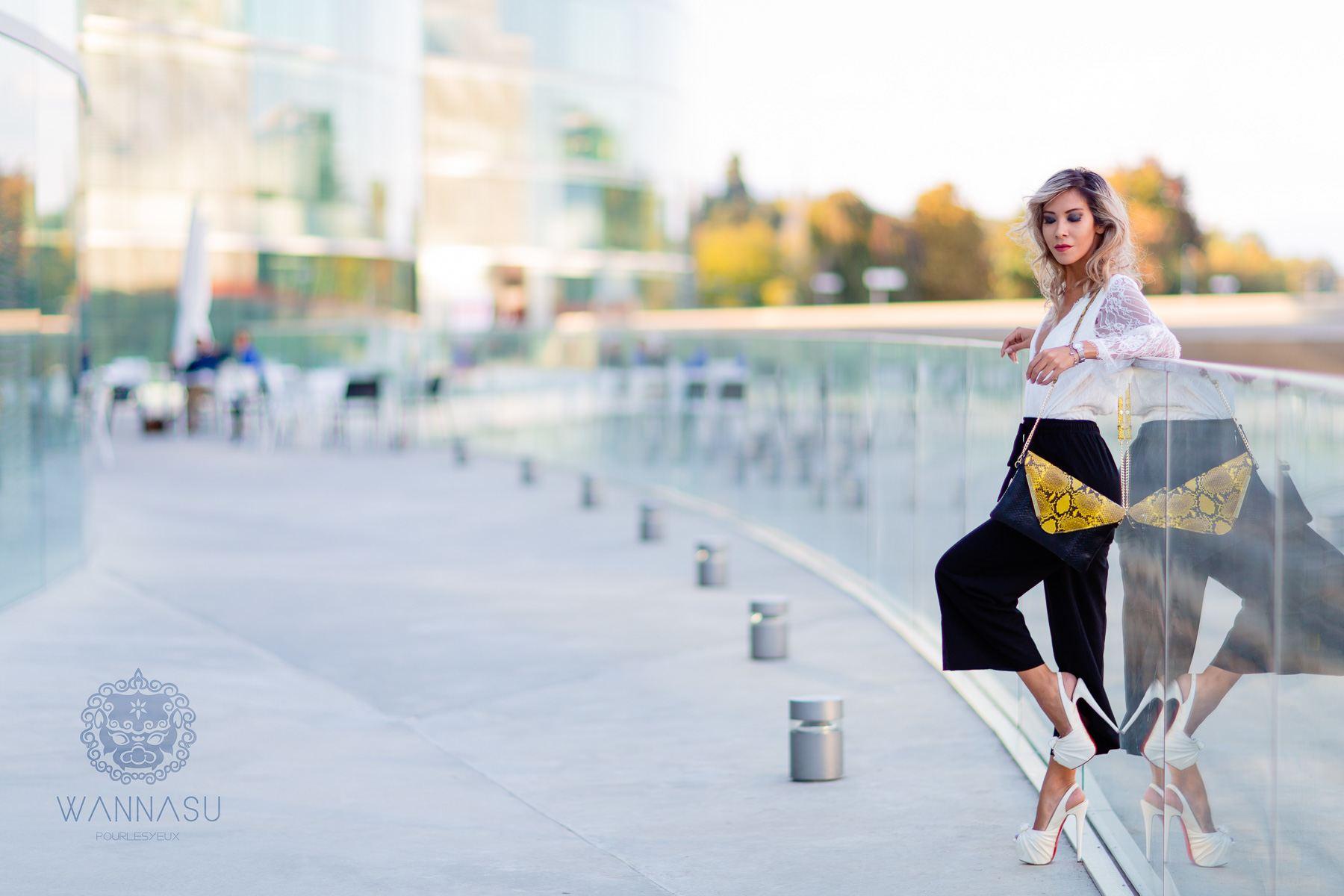 modèle suisse mannequin genève mode publicité sac wannasu thailande